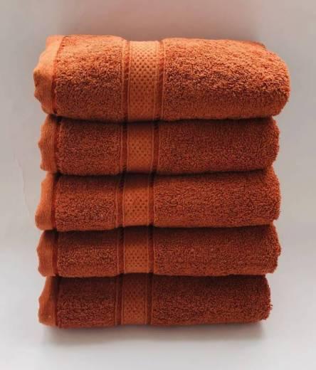 Полотенце оранж - фото 2