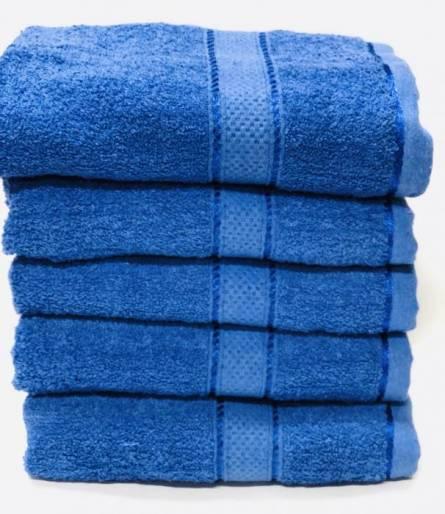 Полотенце синие  - фото 2