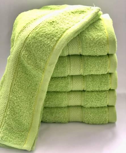 полотенце салатовое - фото 1