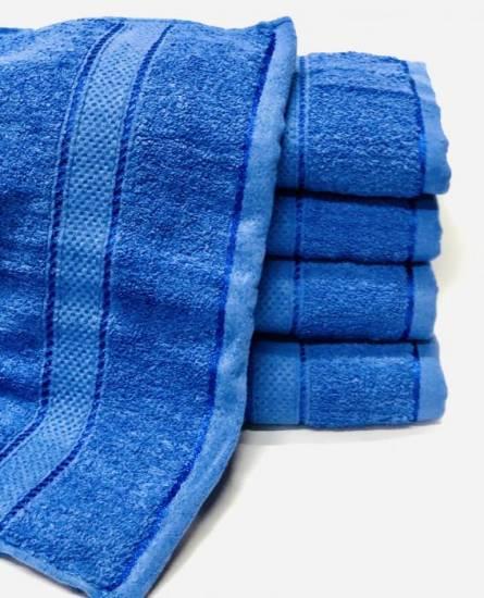 Полотенце синие  - фото 1