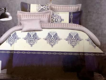 Комплект постельного белья Сатин евро в коробке - фото 14