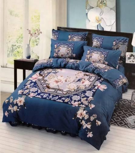 Фото  товара Комплект постельного белья бамбук евро в коробке