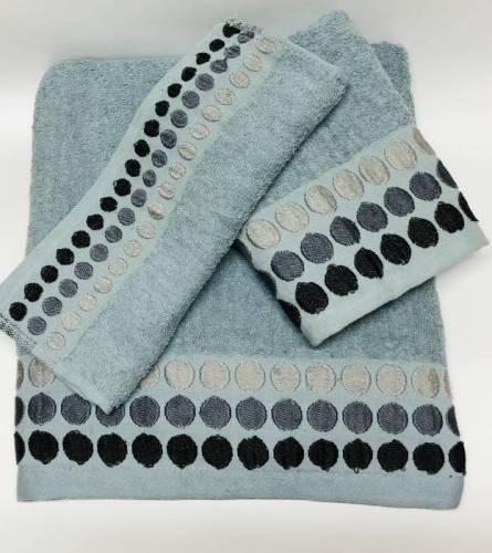 Набор полотенец Горошки - фото 1