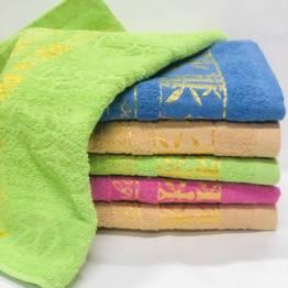 Фото  товара полотенце бамбук золото