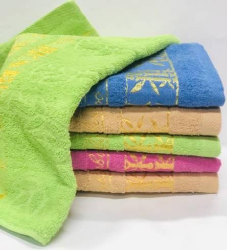 полотенце бамбук золото - фото 1