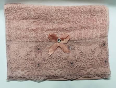 Фото  товара полотенце бантик кружево
