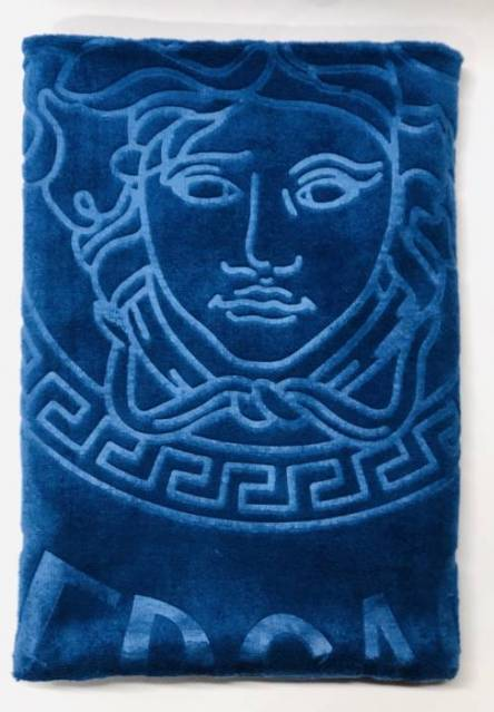 Полотенце версаче-портрет микрофибра - фото 3