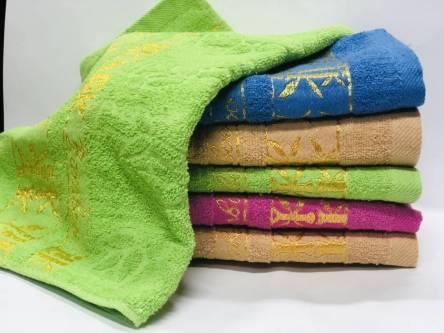 полотенце бамбук золото - фото 3