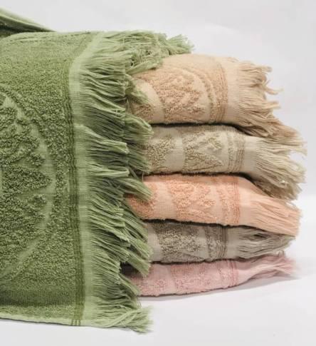 полотенце бахрома - фото 3