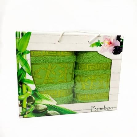 Набор полотенец бамбук 2 - фото 1