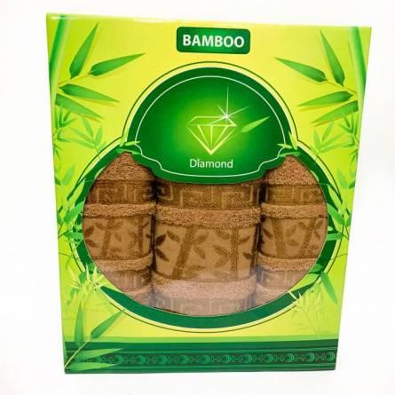 Набор полотенец бамбук 3 - фото 1
