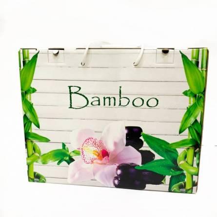 Набор полотенец бамбук 2 - фото 5