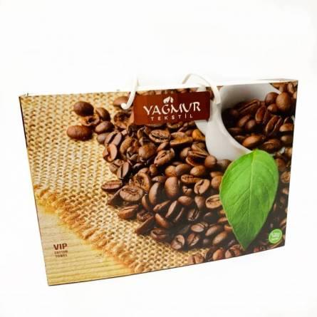 Набор полотенец кофе 3-ка - фото 3