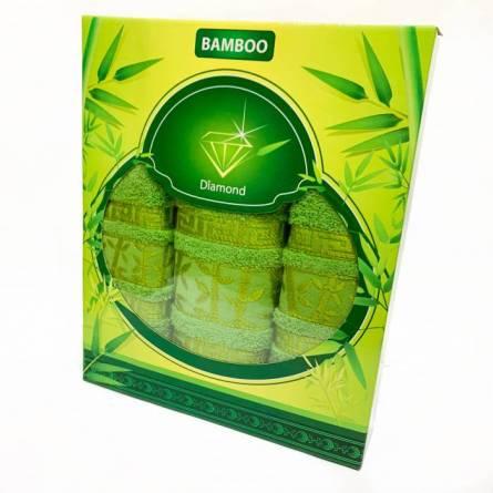 Набор полотенец бамбук 3 - фото 4