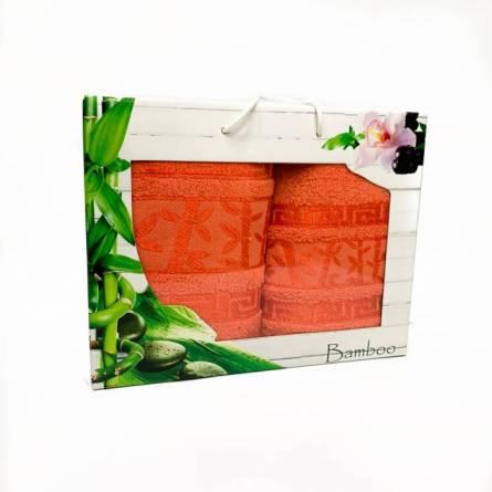 Набор полотенец бамбук 2 - фото 4