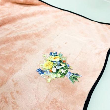 Полотенца микрофибра букет - фото 3