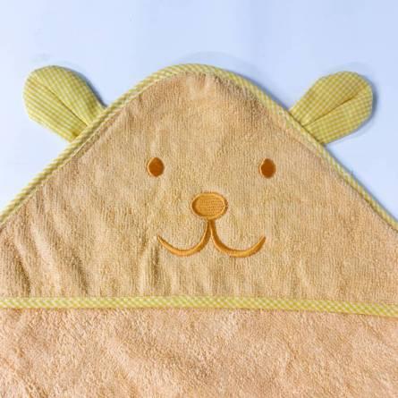 Полотенце детское капюшон зайчик - фото 2