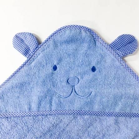 Полотенце детское капюшон зайчик - фото 5