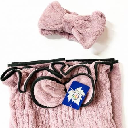 Сплошное полотенце-халат для сауны - фото 8