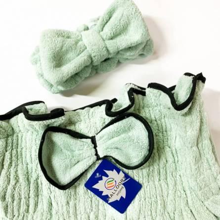 Сплошное полотенце-халат для сауны - фото 6