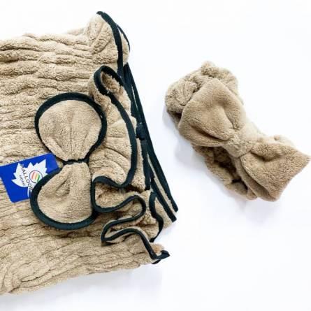 Сплошное полотенце-халат для сауны - фото 3