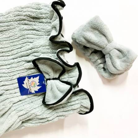 Сплошное полотенце-халат для сауны - фото 2