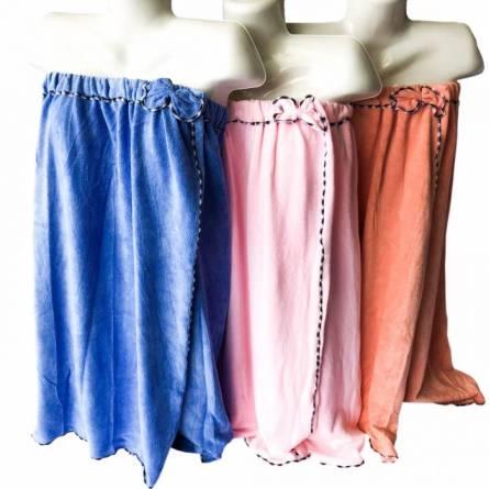 Полотенце-халат для сауны кант - фото 2