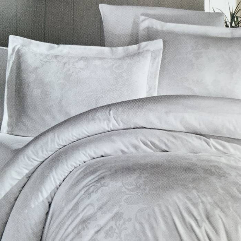 Комплект постільної білизни jacquard satin - фото 3