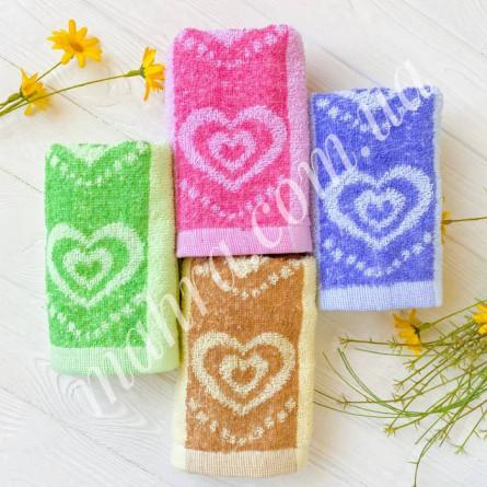 Полотенца кухонные сердечки - фото 3