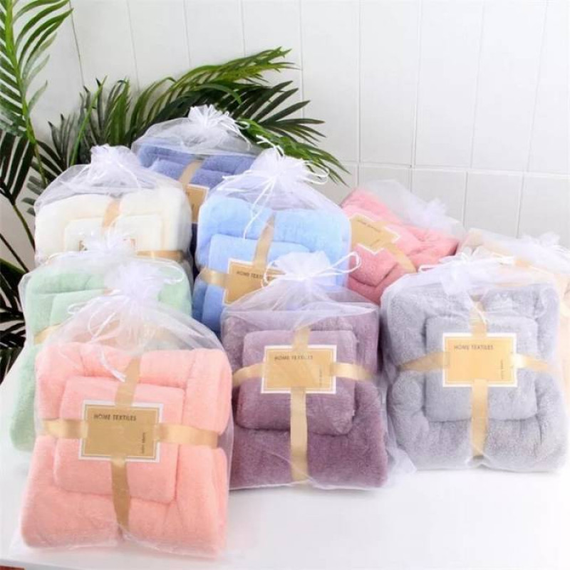 Набор полотенец в мешочке - фото 1
