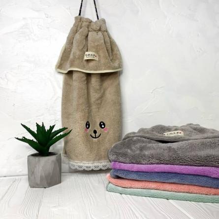 Полотенца для рук с кружевом - фото 1