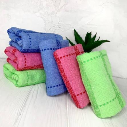 Рушники для рук в клітинку - фото 1