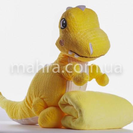 Плед детский динозавр - фото 2