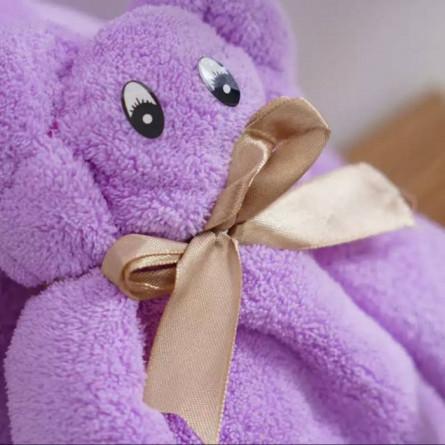 Мишка полотенце микрофибра - фото 4
