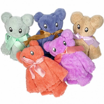 Мишка полотенце микрофибра - фото 7