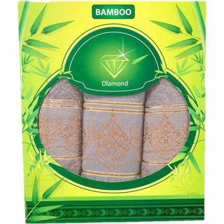 Набор полотенце узоры (зелёная коробка) - фото 3