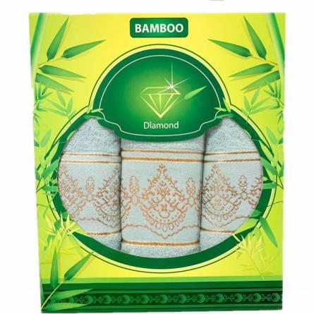 Набор полотенце узоры (зелёная коробка) - фото 4