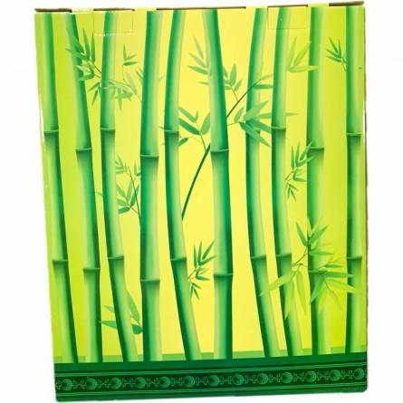 Набор полотенце узоры (зелёная коробка) - фото 5