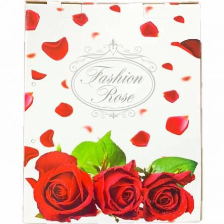 Набор полотенец цветы кант - фото 2