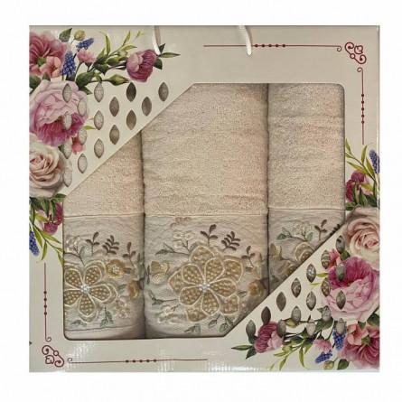 Набор полотенец Объёмный цветок - фото 3