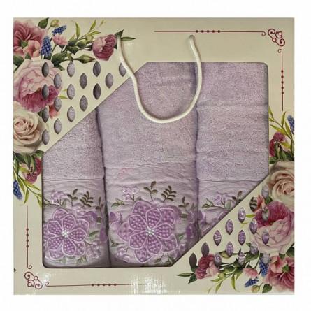 Набор полотенец Объёмный цветок - фото 4