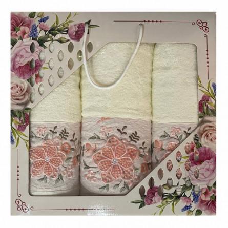Набор полотенец Объёмный цветок - фото 5