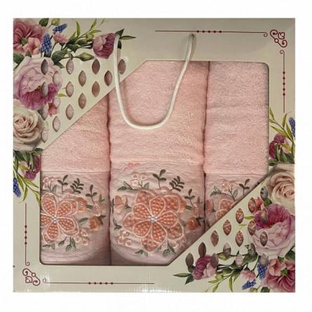 Набор полотенец Объёмный цветок - фото 2