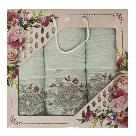 Набор полотенец Объёмный цветок - фото 1