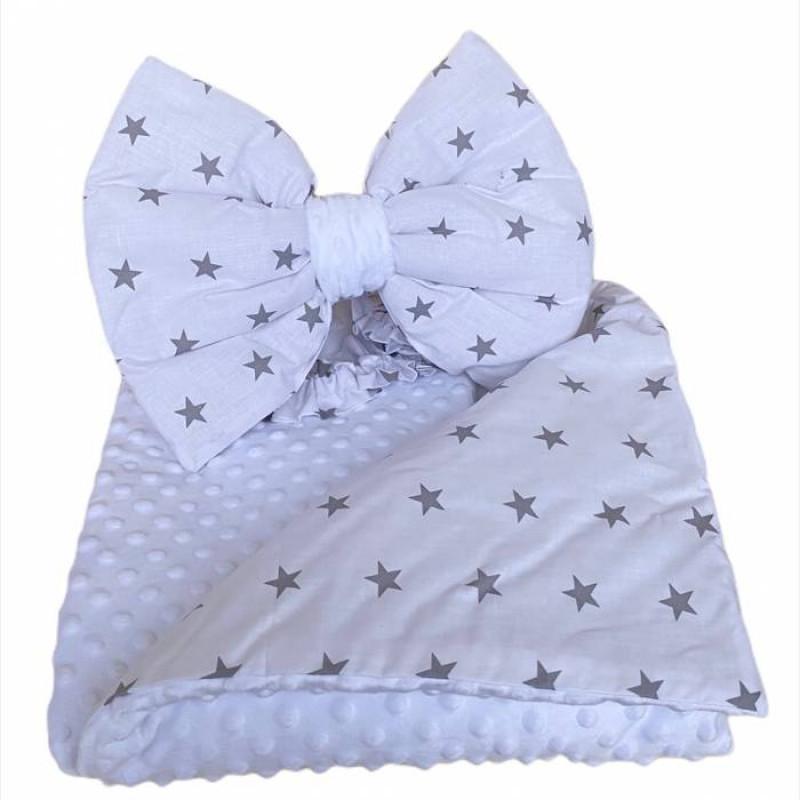 Одеяло детское с бантом - фото 1