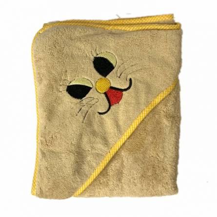 Полотенце детское с капюшоном зайчик - фото 3