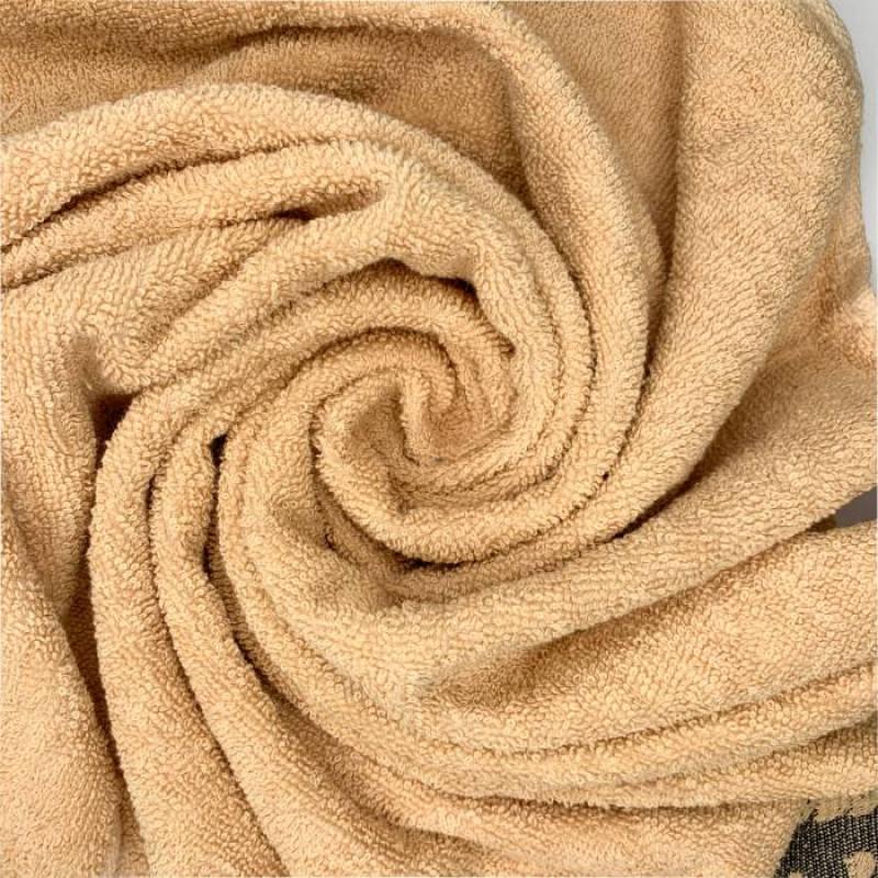 Полотенца махровые цветы - фото 5