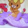 Плед детский медвежонок - фото 4