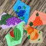 Серветки мікрофібра фрукти - фото 1