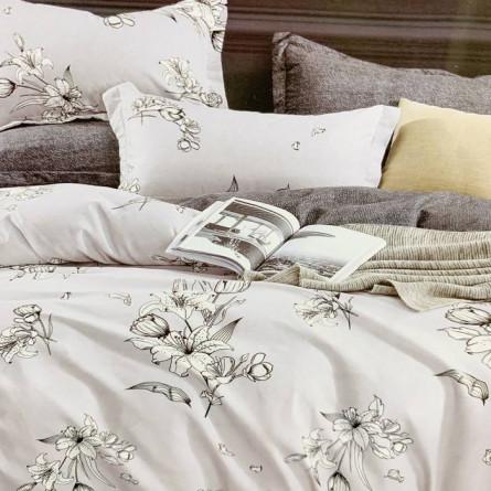 Комплект постельного белья Koloco сатин - фото 20